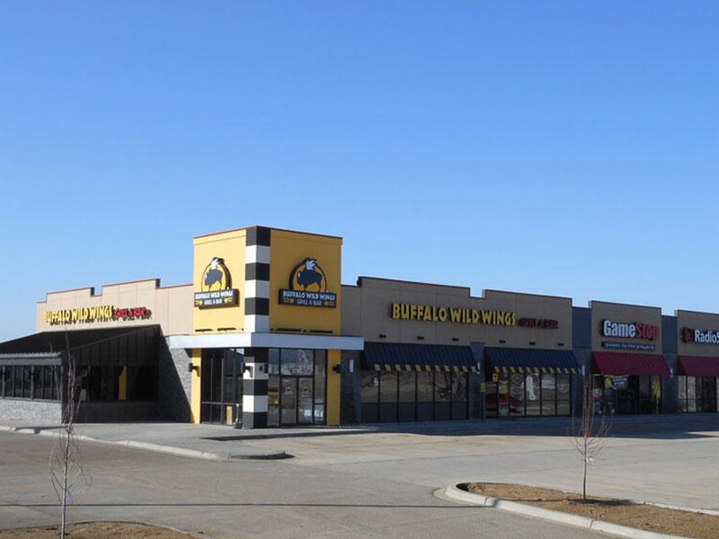 Split Rock Strip Mall in South Dakota