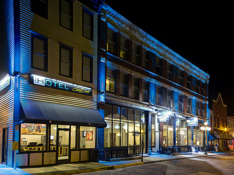 The Hotel By Gold Dust in Deadwood SD