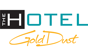 Logo for The Hotel By Gold Dust in Deadwood SD